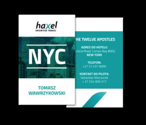 Event branding - Haxel Events & Incentive Sp  z o o